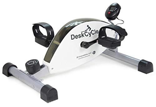 Neuerscheinung! DeskCycle Ein Pedal-Trainingsgerät für unter den Schreibtisch. Gänzlich geräuschloses magnetisches Pedal-Trainingsgerät fürs Büro oder zuhause von MagneTrainer. Verbrennen Sie Kalorien und tun Sie etwas für Ihre Gesundheit und Produktivität während Sie arbeiten. Ein spezielles niedgrieges Design, das unter einen Schreibtisch passt und qualitativ hochwertig hergestellt, um sogar bei intensivem Training lärmarm zu bleiben. Das gelenkschonende Training kommt dem Körüer zugute.