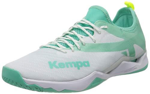 Kempa Damen Wing LITE 2.0 Women Handballschuh, weiß/türkis, 41 EU