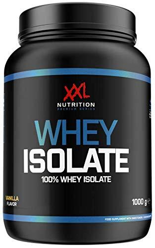 XXL Nutrition Whey Isolate | Reines Whey Protein Isolat 93% Eiweiß (Vanille 2500g)