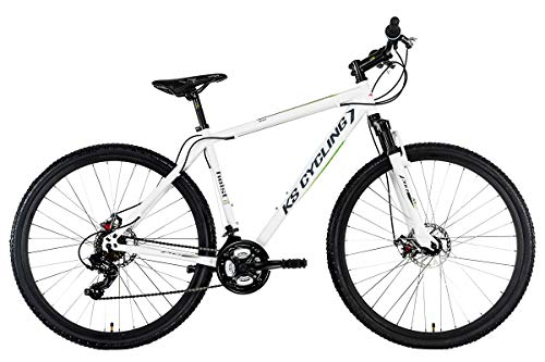 "KS Cycling Mountainbike Hardtail Twentyniner 29"" Heist weiß RH 51 cm"