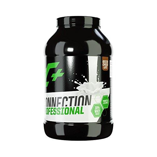 ZEC+ Whey Connection Professional – 1000 g, Proteinpulver aus Whey Konzentrat & Whey Protein, Protein Shake mit Eiweißpulver & Aminosäuren (BCAAs), Geschmack Schokolade