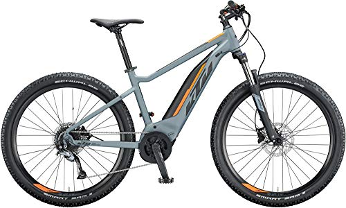KTM Macina Ride 271 Bosch Elektro Mountain Bike 2020 (S/43cm, Epicgrey Matt/Black/Orange)