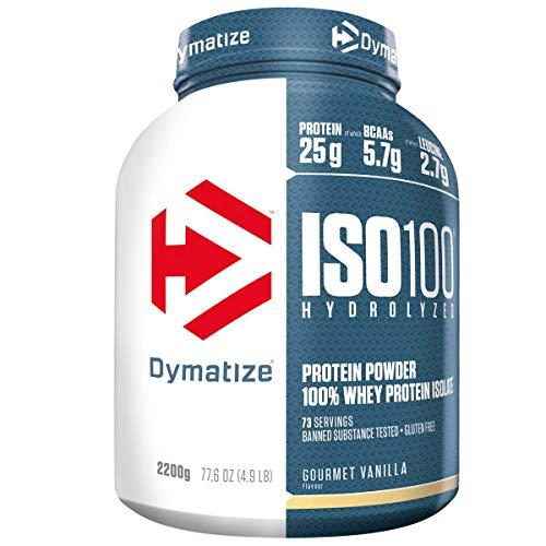 Dymatize ISO 100 Gourmet Vanilla 2,2kg - Whey Protein Hydrolysat + Isolat Pulver