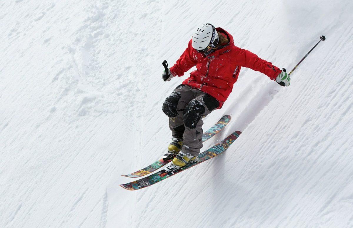 Skifahren Verletzungsrisiko