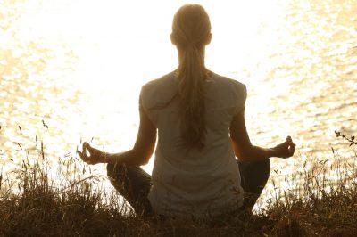 Yoga Übung Berghaltung
