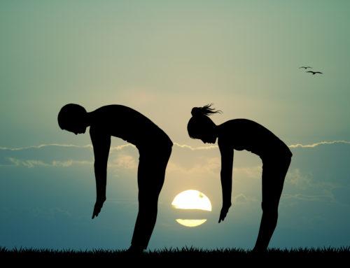 Yoga-Übungen – Die Vorbeuge
